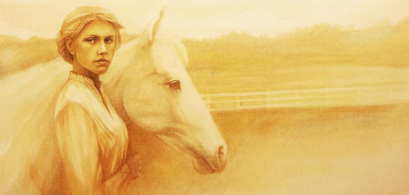 Girl&Horse-001